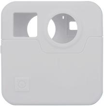 GoPro Fusion kamera beskyttelses deksel laget av silikon - Hvitt
