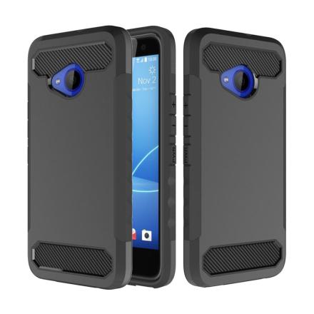 HTC U11 Life Deksel laget av plastikk og silikon - Svart