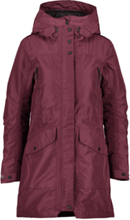 Everest W Padded Function Parka Talvitakit WINE RED