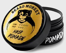 Beard Monkey Hair Pomade Grå