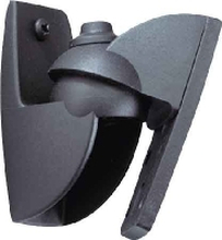 VLB500 sw (VE2) - Wall mount black for audio/video VLB 500 sw (quantity: 2)