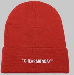 Cheap Monday Cheap Beanie Cheap Rød