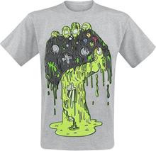 Xbox - Zombie Hand -T-skjorte - gråmelert