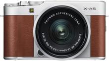 Fujifilm Finepix X-A5 Digitalkamera mit 15-45mm f/3.5-5.6 OIS PZ - Braun