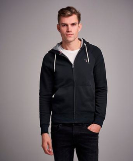 Gant Gant Original Full Zip Sweat Hoodie Svart