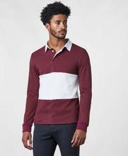 Studio Total Pikétröja Owen Rugby Sweater Röd