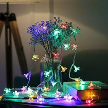 Paristokäyttöinen koristevalaisin 5metriä / 50 Led -lamppua