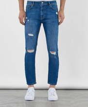 William Baxter Jeans Toby Cropped Jeans Blå