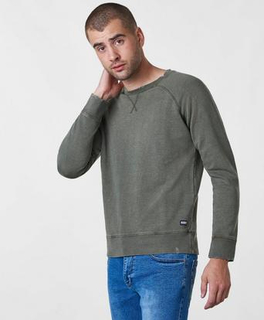 William Baxter Rooney Crew Neck Grønn