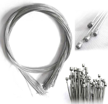 10Pcs 1.75M MTB Bike Bicycle Shift Derailleur Stainless Steel Inner Wire Line Gear Cable Sets Core Inner Wire Steel Speed Line