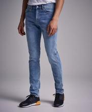 Dr.Denim Jeans Snap Light Mist Blue Rip Blå