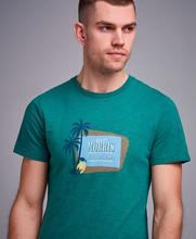 Morris T-Shirt Tevon Tee Grön