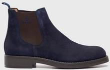 Gant Boots Oscar Suede Svart
