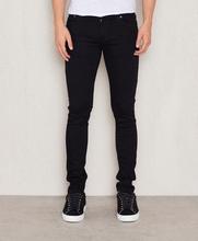 Nudie Jeans Jeans Skinny Lin Shimmering Power Svart