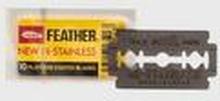Benjamin Barber Feather Double Edge Razor Blades 10-Pcs Grå