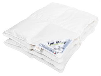 Gåseduns Babydyne - 70x100 cm - Bæreevne Over 12 - Helårs Lun - Zen Sleep