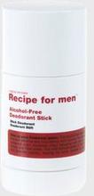 Recipe for men Deodorant Stick Grå