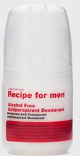 Recipe for men Alcohol Free Antiperpirant Deodorant 60ml Grå