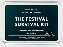 Men's Society The Festival Survival Kit Grå