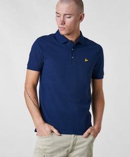 Lyle & Scott Pikétrøye Plain Polo Shirt Blå