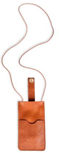 P.A.P Klippan Leather iPhone Cover Brun