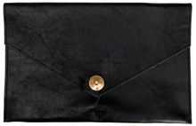 "P.A.P Kungsten Leather Laptop Cover 12"" Svart"
