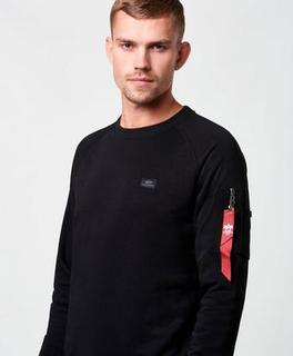 Alpha Industries Sweatshirt X-Fit Sweat Svart