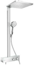 Hansgrohe Raindance E 1jet ShowerTablet 350 Kompelt Dusjsystem m/Termostat, Krom