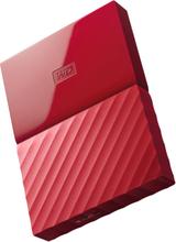 Western Digital My Passport 2.5 Zoll USB 3.0 Externes Laufwerk 1TB WDBYNN0010BRD - Rot