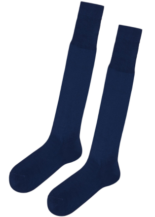 Lange Socken aus Filo Di Scozia Baumwolle