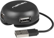 Bumblebee Svart 2.0 USB Hub 4 Ports