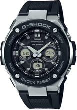 Casio G-SHOCK Standard Analog-Digitaluhr GST-S300-1A - Schwarz