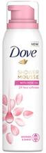 Shower Mousse Rose Oil