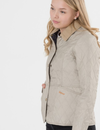 Barbour, SUMMER LIDDESDALE, Beige, Jakker/Fleece för Jente, XL