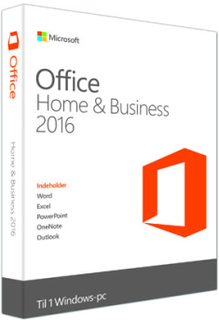 Microsoft Office Home and Business - 2016 (Windows)