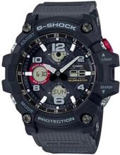 Casio G-SHOCK MASTER OF G MUDMASTER Uhr GSG-100-1A8 - Schwarz und Rot