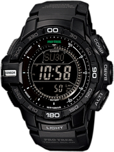 PRO_TREK Triple Sensor Version 3 TOUGH SOLAR Uhr PRG-270-1A - Schwarz
