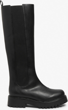 Knee-high chelsea boots - Black
