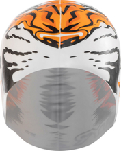 TYR Tiger Badehette white/orange 2019 Badehetter