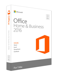 Microsoft Office Home and Business - 2016 (Mac)