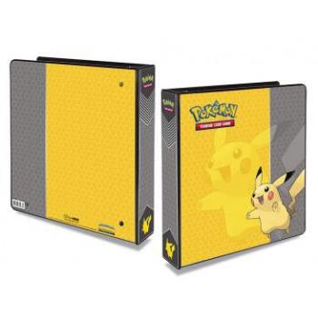 Pokemon A4 Album Ringperm Pikachu Til Ultra Pro 9-Pocket Pages