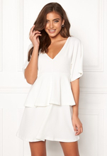 BUBBLEROOM Nicolette dress White 38