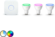 Philips Hue White & Color Ambiance GU10 Starterkit