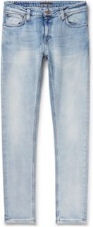 Nudie Jeans - Skinny Lin Organic Stretch-denim Jeans - Blue - L,Nudie Jeans - Skinny Lin Organic Stretch-denim Jeans - Blue - M,Nudie Jeans - Skinny Lin Organic Stretch-denim Jeans - Blue - S,Nudie Jeans - Skinny Lin Organic Stretch-denim Jeans - Blue - X