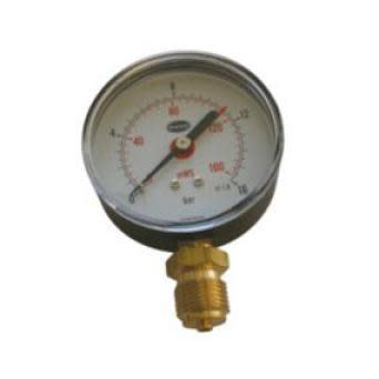 Manometer 80 MM 16 Bar 1/2 M/bar/meter Skala