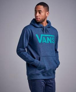 Vans MN Vans Classic Pullover Hoodie Dress Blå