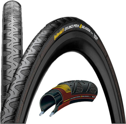 Continental Grand Prix 4-Season Tyre 26-622 folding 25-622   700 x 25C 2019 Däck till Racercyklar