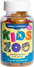 Kids Zoo Omega-3 Fischöl 60 stk