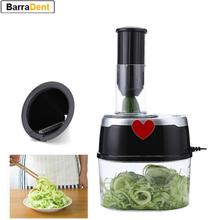 Electric Multifunctional Vegetable Cutter Stainless Steel Chopper Blades Kitchen Tool Spiral Vegetable Cutter Salad Maker