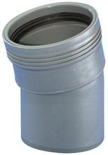 Wavin grå rørbend 110 mm - 15 gr.